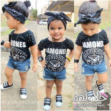 صور صور الاطفال ملابس خطيره , اجمل لبس اطفال