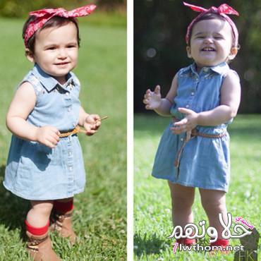 بالصور صور الاطفال ملابس خطيره , اجمل لبس اطفال 3247 6