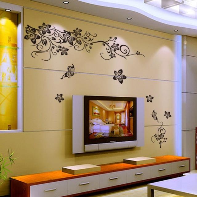 بالصور ديكورات في برواز شاشه التلفزيون , ديكور لحائط الشاشات 3256 10