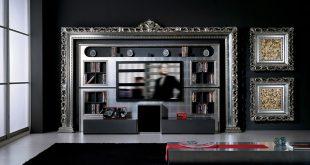صور ديكورات في برواز شاشه التلفزيون , ديكور لحائط الشاشات