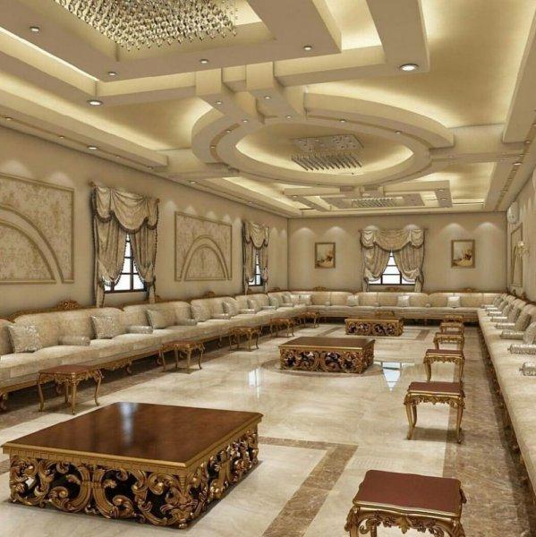 صوره ديكورات مجالس رجال 2019 , ديكور مجلس عربي