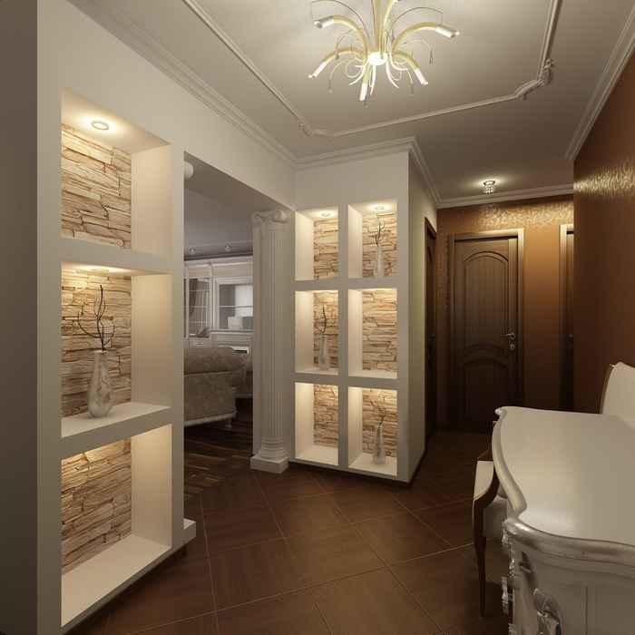 Интерьеры квартиры коридор фото
