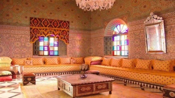 صوره ديكورات مجالس مغربية فخمه احدث مجالس مغربيه روعة , ديكور غرف بالمغرب