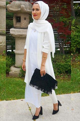 بالصور موديلات قمصان كويتية طويلة , فساتين وبلوزات موضة جدا 3506 6