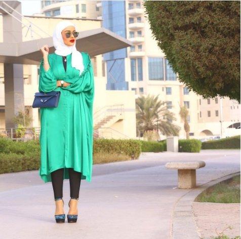 بالصور موديلات قمصان كويتية طويلة , فساتين وبلوزات موضة جدا 3506 9