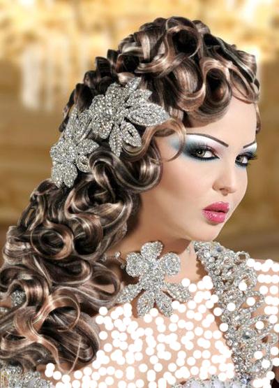 بالصور افخم تسريحات العرايس , فورمات شعر للعروسة 3532 6