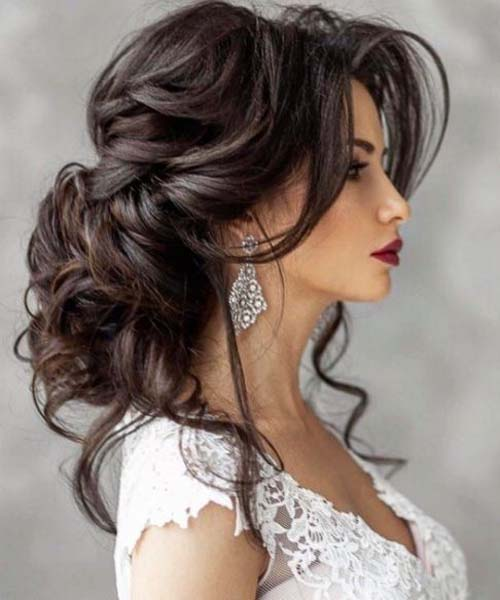 بالصور افخم تسريحات العرايس , فورمات شعر للعروسة 3532 8