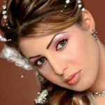 افخم تسريحات العرايس , فورمات شعر للعروسة