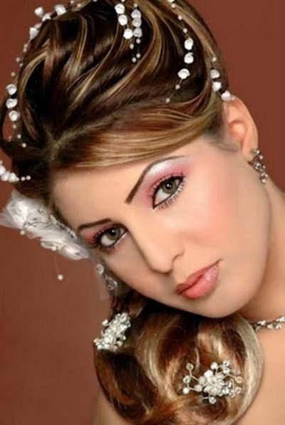 صوره افخم تسريحات العرايس , فورمات شعر للعروسة