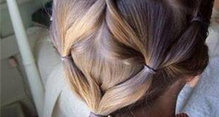 صور تسريحات الشعر بالصور للمدرسة , فورمات لشعر بنوتك