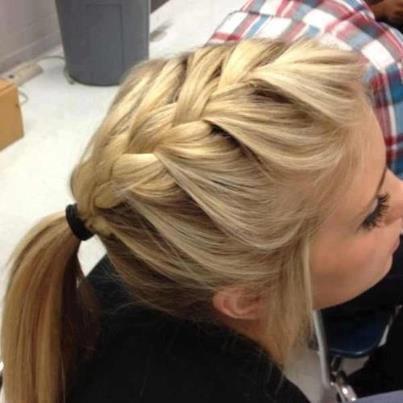 صوره تسريحات الشعر القصير بالصور للمدرسة , فورمات لبنات المدارس