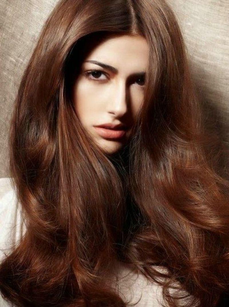 بالصور وصفة لتلوين الشعر الي بني غزالي بالصور , صبغات شعر للنساء 3551 1