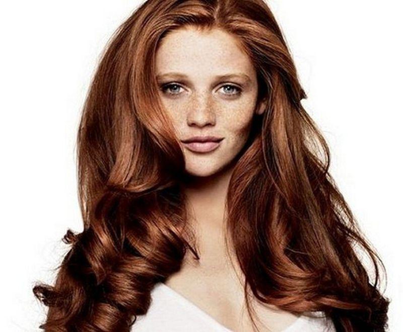 بالصور وصفة لتلوين الشعر الي بني غزالي بالصور , صبغات شعر للنساء 3551 2