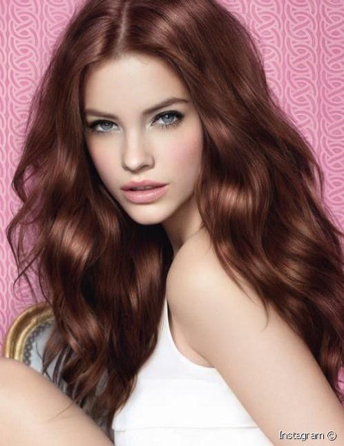 بالصور وصفة لتلوين الشعر الي بني غزالي بالصور , صبغات شعر للنساء 3551 3