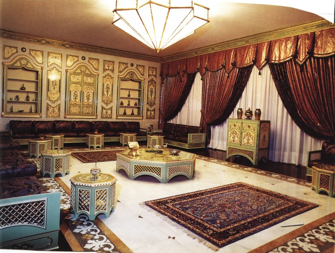 بالصور صور جلسات عربية جميلة جلسات استقبال ليبية صالات عربية , صورة مجلس عربي في ليبيا 3562 4