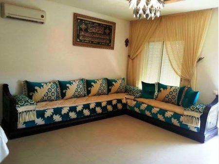 بالصور صالونات مغربية روعة جلسات عربية مودرن صور مجالس , ديكور للصالون 3564 5
