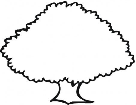 صوره صور تلوين اشجار صور رسومات اشجار للاطفال جاهزة للتلوين والطباعة , تعليم الرسم