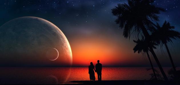 بالصور صور لكل محبي القمر والرومانسية وهدو الليل , لعشاق الهدوء والسحر 4078 10