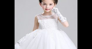 صوره فساتين زفاف للاطفال , فستان افراح لبنوتة صغيرة