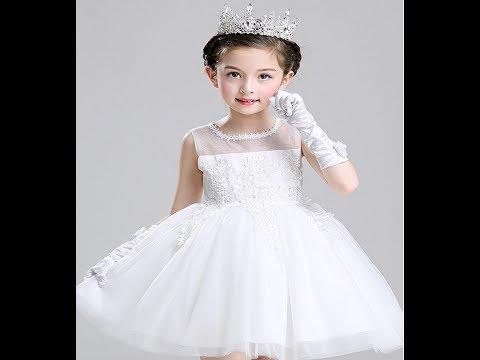بالصور فساتين اطفال جديدة , تشكيلة منوعة لفستان بنوتة 908