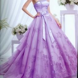 صورة فساتين باللون الموف , اروع فستان موف 936 5