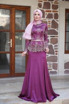 صورة فساتين باللون الموف , اروع فستان موف 936 6