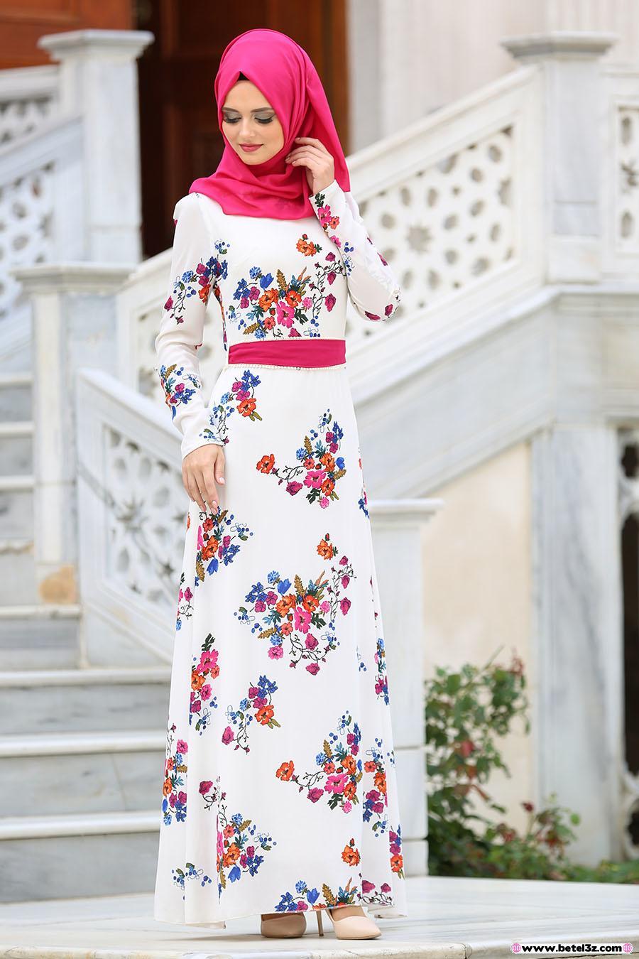 بالصور احدث الفساتين 2019 , تصاميم رائعة لاجمل صيف 940 4