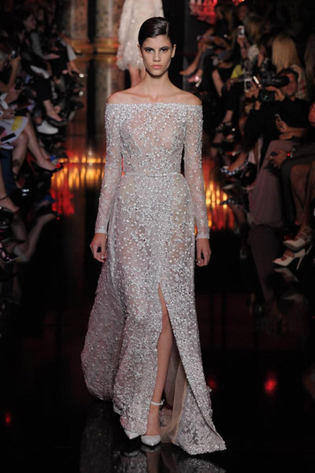 صور فساتين ايلي صعب , اجمل تصاميم الفساتين