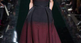 صوره فساتين ايلي صعب , اجمل تصاميم الفساتين