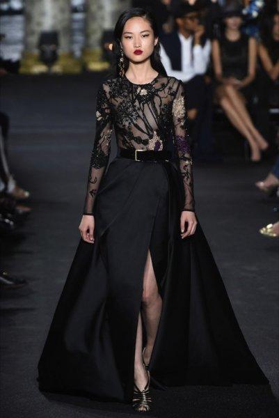 بالصور فساتين ايلي صعب , اجمل تصاميم الفساتين 957 4