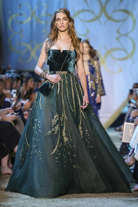 بالصور فساتين ايلي صعب , اجمل تصاميم الفساتين 957 5