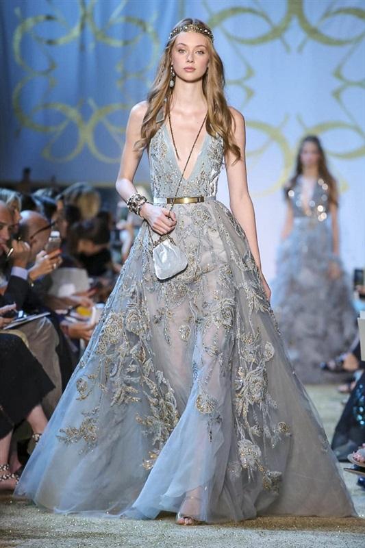 بالصور فساتين ايلي صعب , اجمل تصاميم الفساتين 957 6