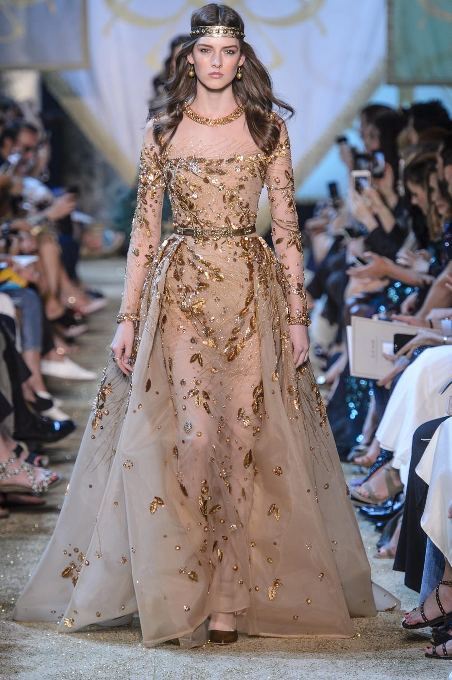 بالصور فساتين ايلي صعب , اجمل تصاميم الفساتين 957 8