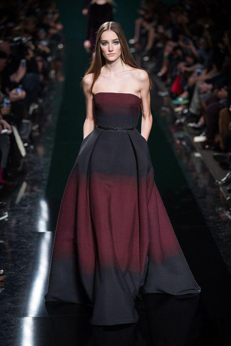 بالصور فساتين ايلي صعب , اجمل تصاميم الفساتين 957