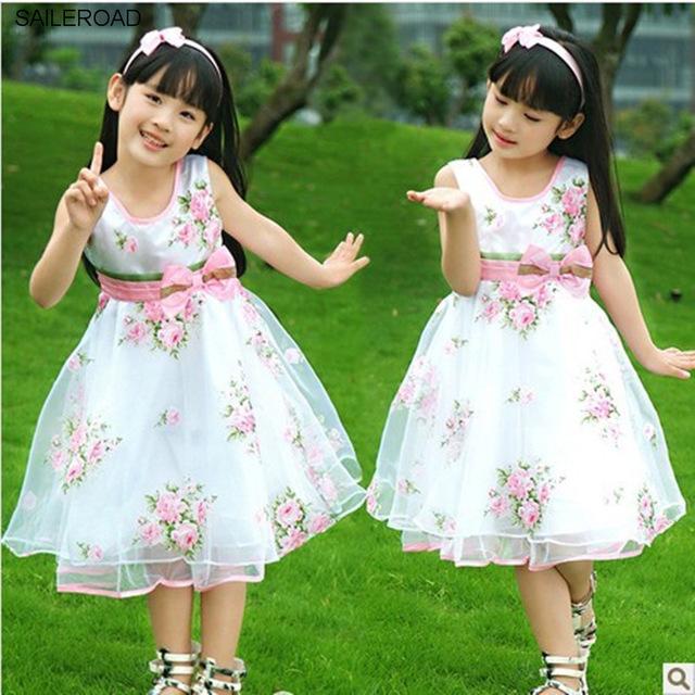 بالصور فساتين اطفال شيفون , فستان رقيق للاطفال 959 2