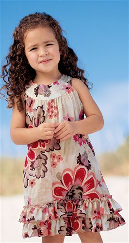 بالصور فساتين اطفال شيفون , فستان رقيق للاطفال 959 8