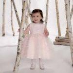 فساتين بنات صغار للاعراس 2020 , اجمل فستان عروسه لبنوته صغيره
