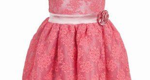 صوره فساتين بنات صغار دانتيل , صور حديثه لفستان دانتل لبنت صغيره