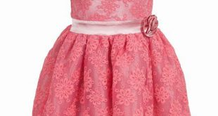 فساتين بنات صغار دانتيل , صور حديثه لفستان دانتل لبنت صغيره