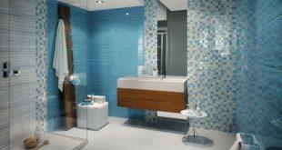 صورة تنسيق تركيب سراميك نموذج اشكال سراميك حمام تشكيلات بلاط الحمامات طرق تركيب ارضيات
