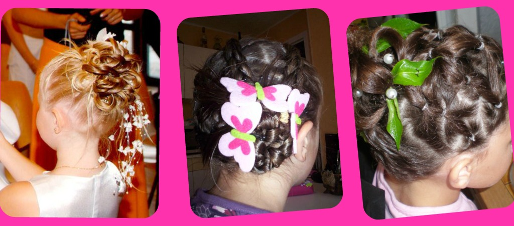 صوره اجمل تسريحات الشعر للبنات الصغار للعرس للافراح , احدث تسريحة شعر