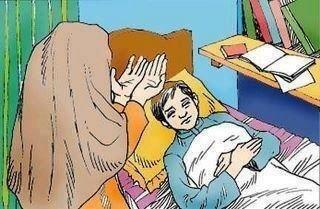 بالصور صور عن زيارة المريض , صوره معبره عن عياده المريض unnamed file 2082