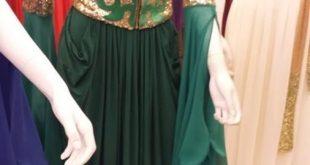 صوره قنادر اعراس جزائرية 2018 , عالم موضه العروسه الجزائريه
