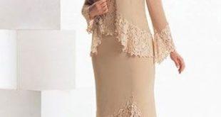 تصاميم فساتين لكبار السن , احدث صيحة فستان لكبيرات السن