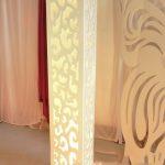 صور ديكورات افكار ديكورية لعمود فى الريسيبشن , ديكور عمود الرسيبشن