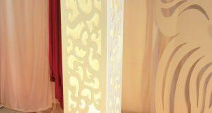 صوره صور ديكورات افكار ديكورية لعمود فى الريسيبشن , ديكور عمود الرسيبشن