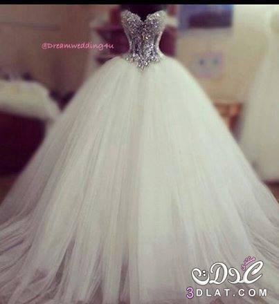 بالصور صور اجمل فساتين زفاف , فساتين انيقه للزفاف 1001 6