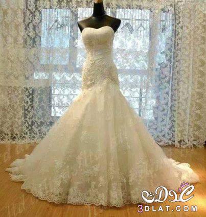 بالصور صور اجمل فساتين زفاف , فساتين انيقه للزفاف 1001 7