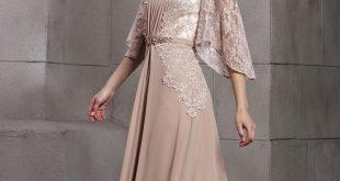 بالصور فساتين دانتيل طويله , اروع الفساتين الطويلة للبنات 1002 10 310x165