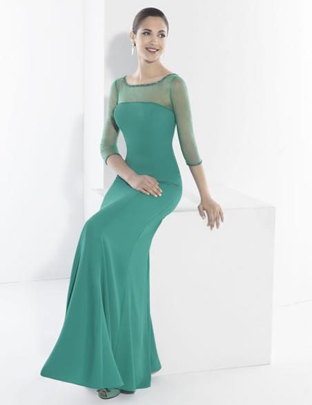 بالصور فساتين دانتيل طويله , اروع الفساتين الطويلة للبنات 1002 2